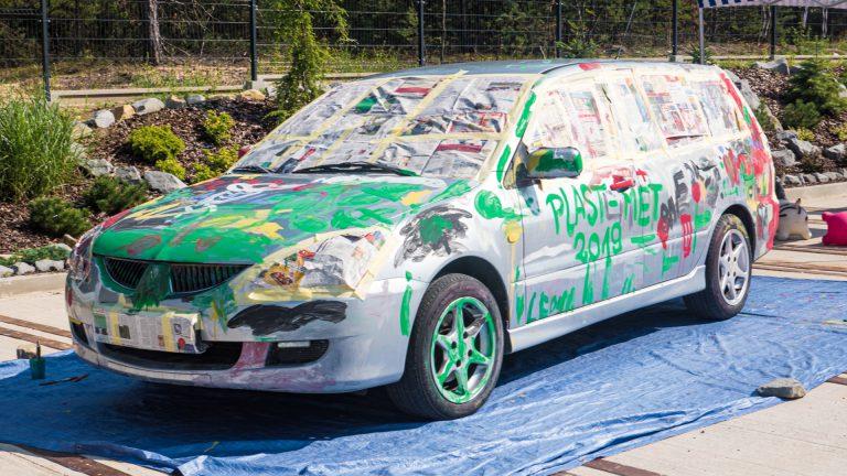 Kolorowy Samochód 01