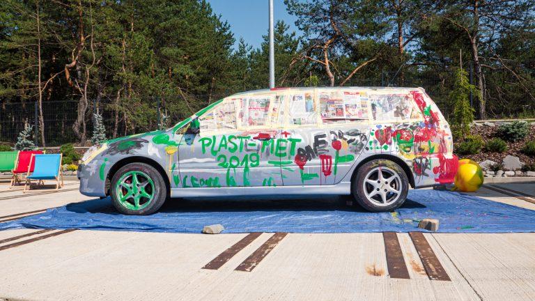 Kolorowy Samochód 05