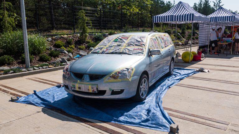 Kolorowy Samochód 09