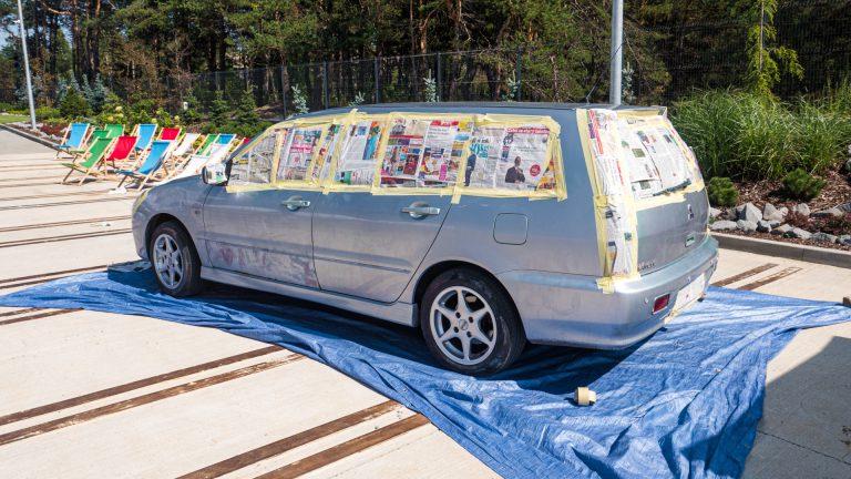 Kolorowy Samochód 11